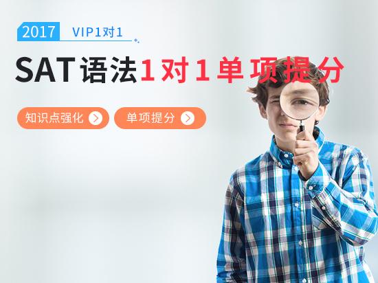 【VIP1对1】SAT语法综合备考冲刺