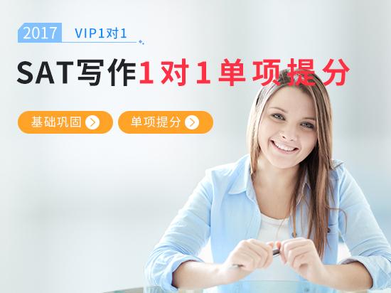 【VIP1对1】SAT写作综合备考冲刺