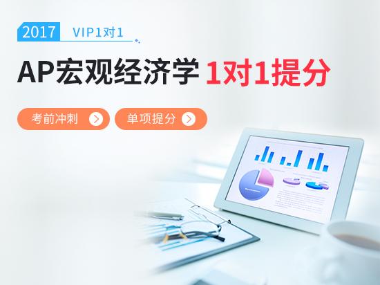【VIP1对1】AP经济学考前冲刺5分课程