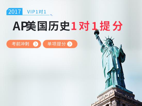 【VIP1对1】AP美国历史考前冲刺5分课程